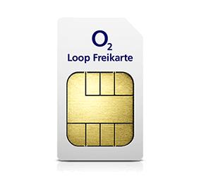 o2 Freikarte: Kostenlose Prepaid Karte mit Loop Tarif