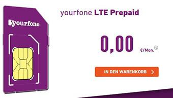 Yourfone LTE Prepaid Tarif