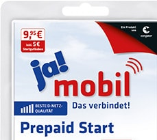 ja! mobil easy Prepaid Tarif