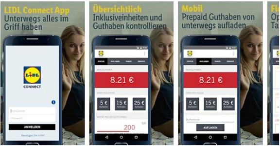 LIDL Connect Guthaben über die App abfragen