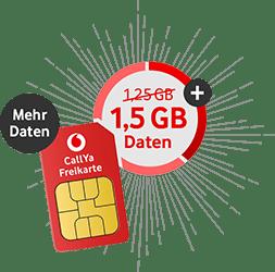 Vodafone Freikarte (CallYa)