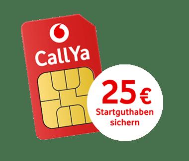 CallYa Talk & SMS: Kostenlose Prepaid Karte inkl. 25 € Startguthaben
