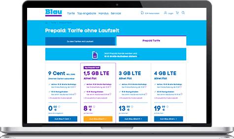 Blau Sim Karte Freischalten.Blau Prepaid Tarife Im August 2019 Kosten Preise In Der übersicht