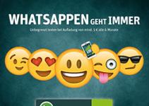WhatsApp SIM mit Guthaben aufladen