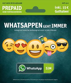 Wie funktioniert die WhatsApp SIM Karte überhaupt?