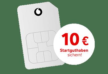 Vodafone Freikarte: Kostenlose CallYa Prepaid Karte inkl. 10 € Startguthaben