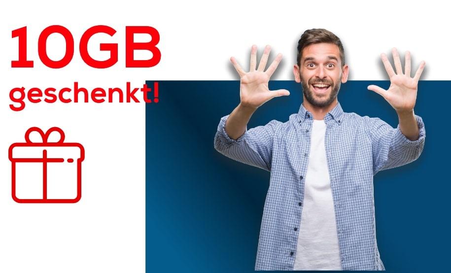 10 GB Datenvolumen bei EDEKA Smart geschenkt