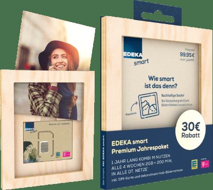 EDEKA Smart Jahrespaket: Nur 92,56 € statt 129,70 €