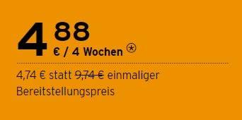 congstar Prepaid Pakete Aktion bis 31.12.2020: 5 € Rabatt sichern