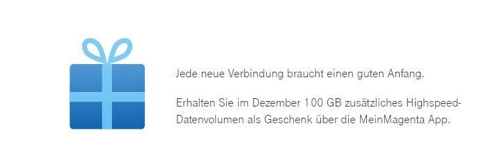 Telekom Prepaid: 100 GB Datenvolumen geschenkt (Aktion ab 7.12. gültig)