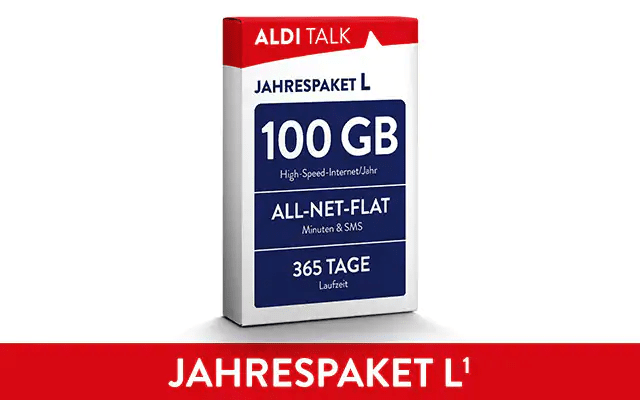 ALDI TALK Jahrespaket L