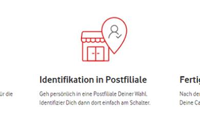 Vodafone CallYa Registrierung - Alle Infos zur Identifizierung